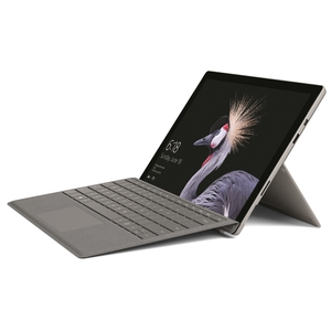 Microsoft Surface Pro 128GB mit Core M & 4GB (2017) inkl. Surface Pro Signature Type Cover Platin Grau