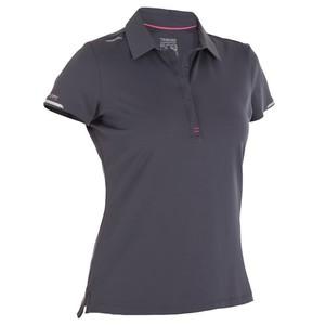 TRIBORD Poloshirt Kurzarm Segeln Race Damen grau, Größe: EU 40 DE 38