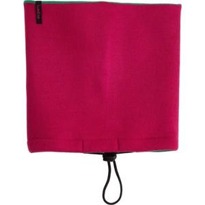 Wende-Schlauchtuch grün/rosa