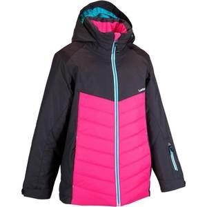 WED´ZE Skijacke 300 Mädchen schwarz, Größe: 6 J. - Gr. 116