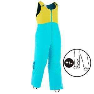 WED´ZE Skihose 300 Pull´n fit Kinder blau/gelb, Größe: 3 J. - Gr. 95/4 J. - Gr. 100