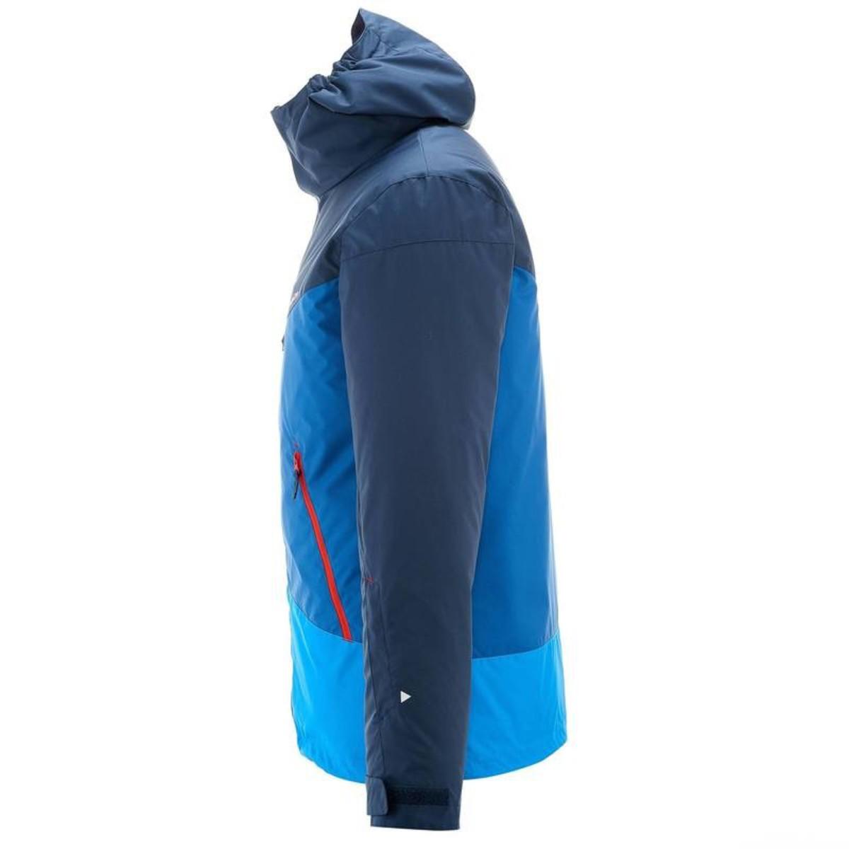 Bild 4 von WED´ZE Skijacke Slide 300 Herren blau, Größe: S