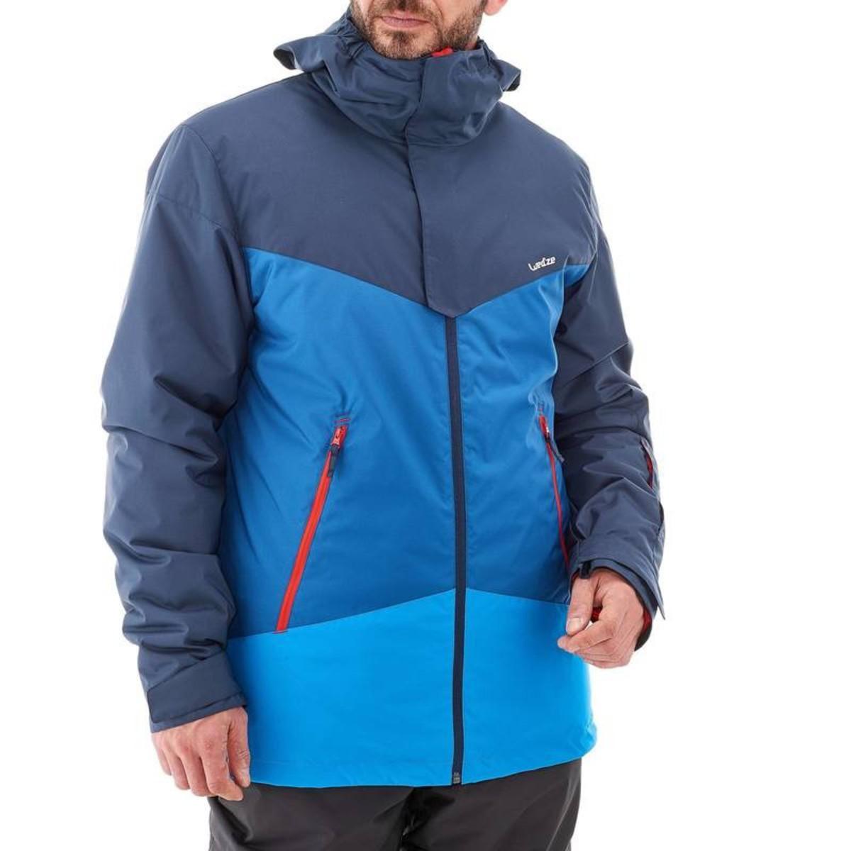Bild 5 von WED´ZE Skijacke Slide 300 Herren blau, Größe: S