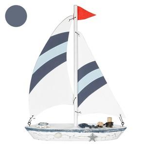 Deko Segelboot Holz