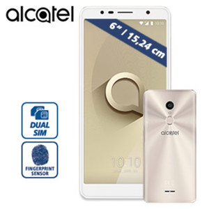 Smartphone A3 XL 5026D · 2 Kameras (5MP / 8MP) · microSD™-Slot bis 128 GB · Android™ 7.0