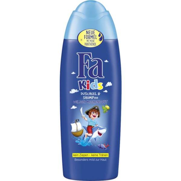 Fa Kids Duschgel & Shampoo wilder Meeresduft 0.58 EUR/100 ml
