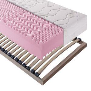 Sparset Exclusive Sleep - Kaltschaummatratze + Lattenrost Sirius - 80 x 200cm - H3 ab 130 kg, Breckle
