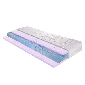 7-Zonen Kaltschaum-Gel-Matratze Sleep Gel 3 - 90 x 200cm - H3 ab 80 kg, Breckle