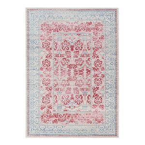 Teppich Shining IV - Kunstfaser - Rot / Türkis - 170 x 240 cm, Schöner Wohnen Kollektion
