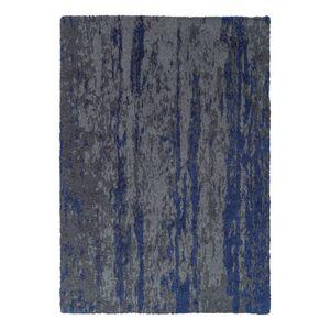 Teppich Impression - Kunstfaser - Grau / Dunkelblau - 120 x 180 cm, Schöner Wohnen Kollektion