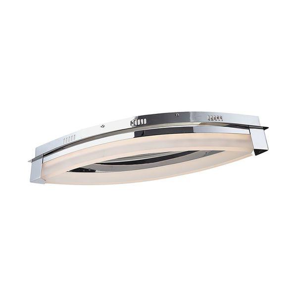 EEK A+, Deckenleuchte VANNES - Metall/Kunststoff - 1-flammig, Wofi