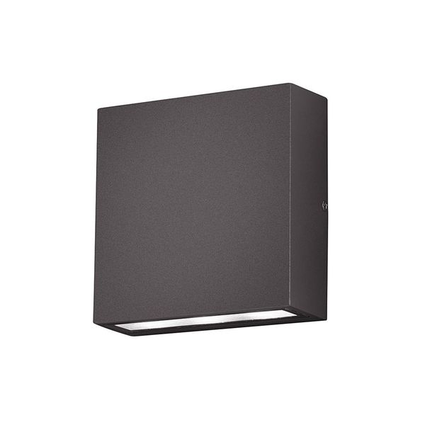 EEK A+, LED-Außenleuchte Thames - Aluminium / Kunststoff - Anthrazit - 2-flammig, Trio