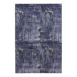Teppich Golden Gate - Kunstfaser - Marineblau - 140 x 200 cm, Top Square