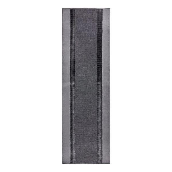 Läufer Band - Kunstfaser - Grau - 80 x 200 cm, Hanse Home Collection