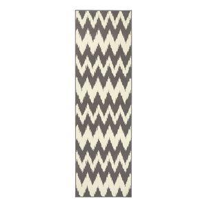 Läufer Fabric - Kunstfaser - Grau - 80 x 200 cm, Hanse Home Collection