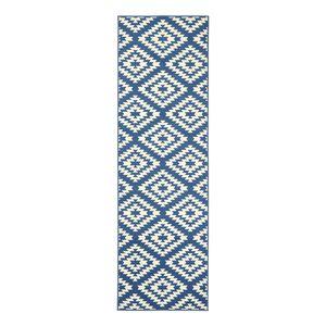 Läufer Nordic - Kunstfaser - Blau - 80 x 200 cm, Hanse Home Collection