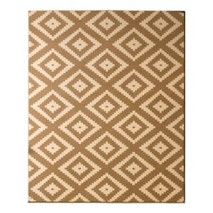 Teppich Raute - Cognac - 200 x 290 cm, Hanse Home Collection
