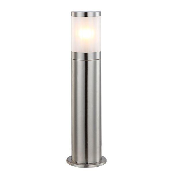 EEK A++, Außenleuchte Xeloo II - Kunststoff / Edelstahl - 1-flammig - 50, Globo Lighting
