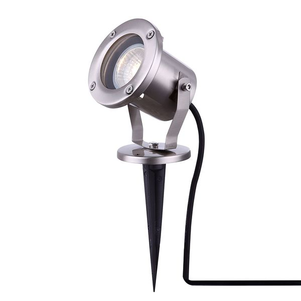 EEK A++, Außenleuchte Style IV - Glas / Edelstahl - 1-flammig, Globo Lighting