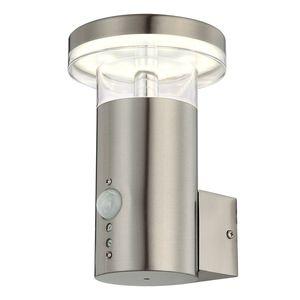 EEK A+, LED-Außenleuchte Sergio II - Kunststoff / Edelstahl - 1-flammig, Globo Lighting