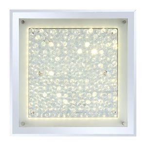 EEK A+, LED-Deckenleuchte Liana II - Glas / Metall - 1-flammig, Globo Lighting