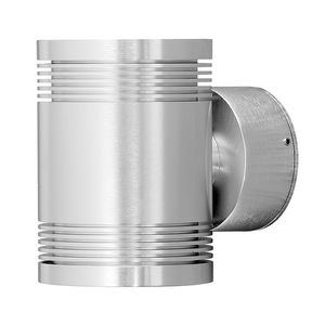 EEK A+, LED Wandleuchte Monza Big - Aluminium - 12-flammig, Konstsmide