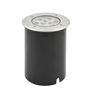 EEK A+, LED Bodeneinbaustrahler - Aluminium/Glas - 9-flammig, Konstsmide
