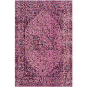 Teppich Alvita - Mischgewebe - Pink - 121 x 182 cm, Safavieh