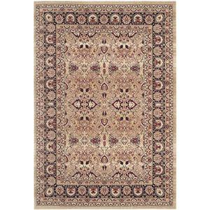 Teppich Catania Area - Mischgewebe - Beige / Weinrot - 121 x 182 cm, Safavieh