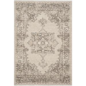 Vintage-Teppich Vintage Everly - Mischgewebe - Beige / Braun - 154 x 228 cm, Safavieh