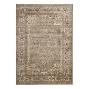 Teppich Vintage Harlow - Kunstfaser - Braun / Sand - 99 x 170 cm, Safavieh