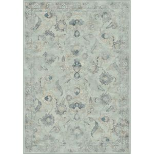 Teppich Serofino - Kunstfaser - Mintgrau - 243 x 340 cm, Safavieh