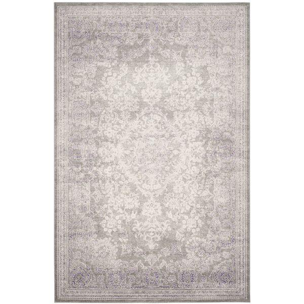 Teppich Annabelle - Kunstfaser - Beige / Lila - 200 x 279 cm, Safavieh