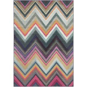 Teppich Andrea - Kunstfaser - Mehrfarbig - 154 x 231 cm, Safavieh