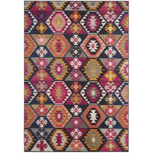 Teppich Enzo - Kunstfaser - Mehrfarbig - 154 x 231 cm, Safavieh