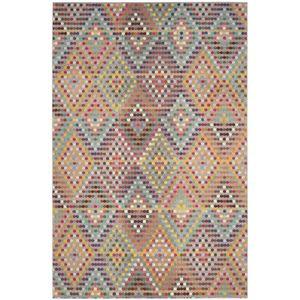 Teppich Alina - Kunstfaser - Mehrfarbig - 200 x 279 cm, Safavieh