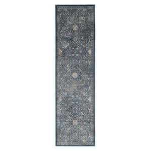 Vintage-Teppich Cordova Vintage - Kunstfaser - Anthrazit - 66 x 243 cm, Safavieh