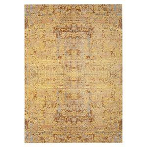 Teppich Abella Vintage - Kunstfaser - Gelb / Hellgrau - 152 x 243 cm, Safavieh