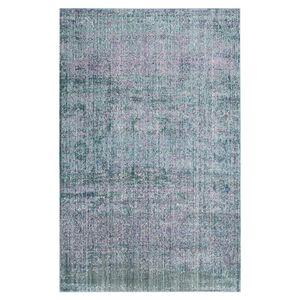 Teppich Lulu Vintage - Kunstfaser - Türkis / Pink - 91 x 152 cm, Safavieh