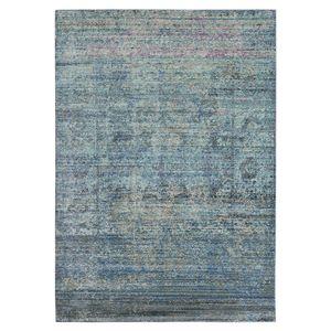 Teppich Lulu Vintage - Kunstfaser - Lila / Khaki - 121 x 182 cm, Safavieh