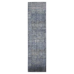 Teppich Lulu Vintage - Kunstfaser - Lila / Khaki - 68 x 243 cm, Safavieh