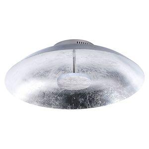 EEK A+, LED-Deckenleuchte Plate Leaf - Stahl - 1-flammig - 50 - Silber, Paul Neuhaus