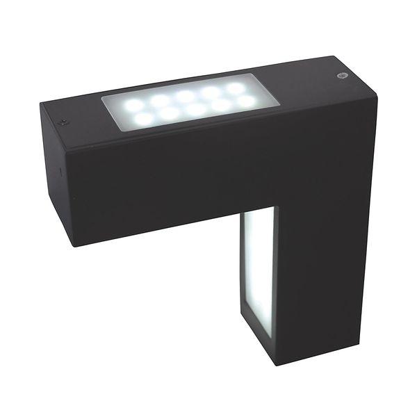 EEK A+, LED-Außen-Wandleuchte Linkage 58-flammig - Grau Aluminium, Näve