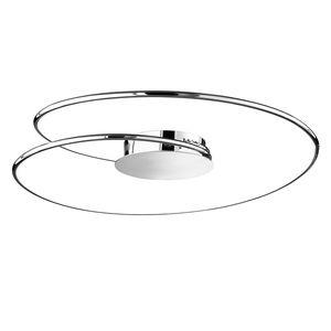 EEK A+, LED-Deckenleuchte Louisa - Acrylglas / Stahl - 1-flammig - 70, Wofi