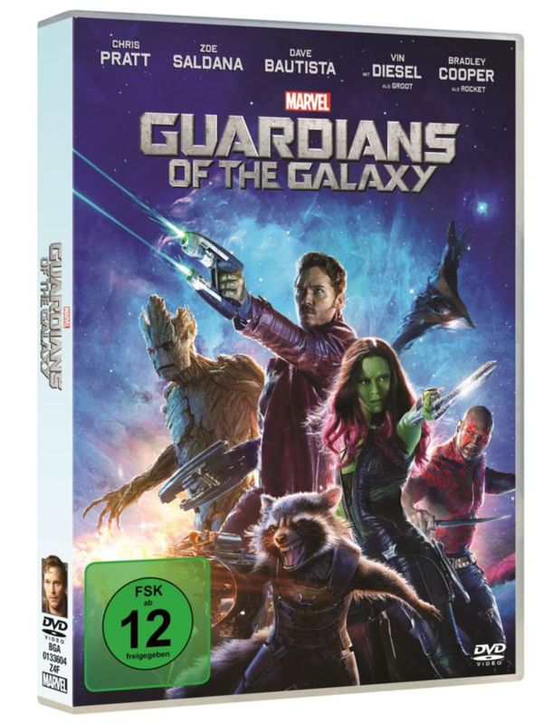 DVD - Guardians of the Galaxy