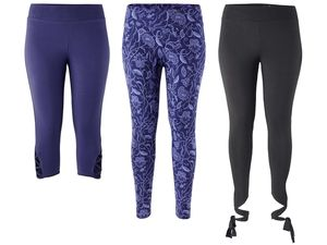 CRIVIT® Damen Wellness-Leggings