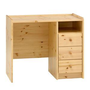 Schreibtisch Steens for Kids - Kiefer massiv - Natur, Steens