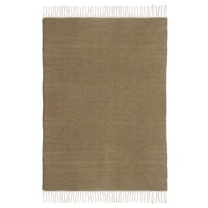 Teppich Fil - Wolle - Braun - 200 x 300 cm, Top Square