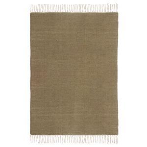 Teppich Fil - Wolle - Braun - 140 x 200 cm, Top Square