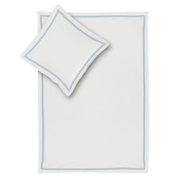 bettw sche smood frame wei grau wei blau 155 x 200 cm kissen 80 x 80 cm smood von. Black Bedroom Furniture Sets. Home Design Ideas